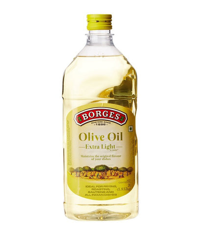 Borges Olive Oil Extra Light Flavour, 2 Liters - FoodNosh