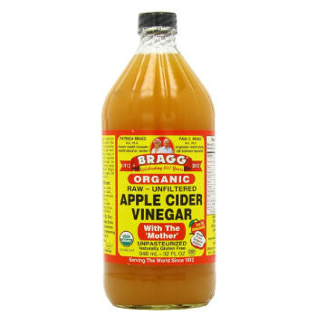 Bragg Organic Raw Unfiltered Apple Cider Vinegar, 946 ml - 3 Months Subscription - FoodNosh