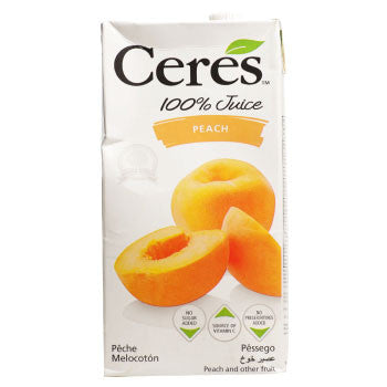 Ceres Peach Juice, 1 Ltr - FoodNosh