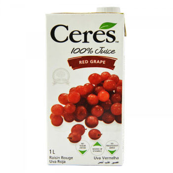 Ceres Red Grape Juice, 1 Ltr - FoodNosh