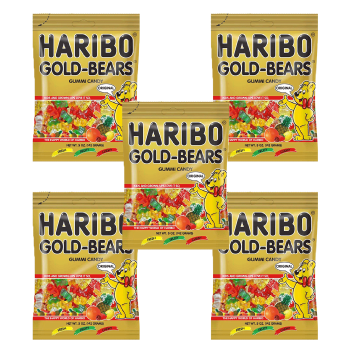 Pack Of 5 : Haribo Gold Bears, 150g - FoodNosh