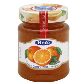 Hero Orange Bitter Jam, 340 Gms - FoodNosh