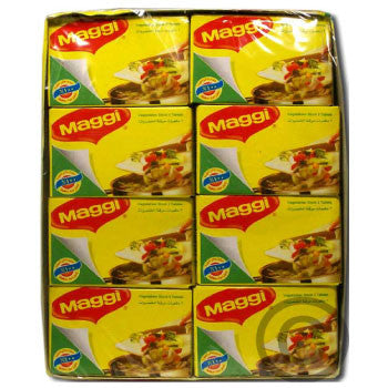 Maggi Magic Cubes - Vegetarian Masala, 24 Pack - 3 Months Subscription - FoodNosh