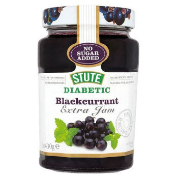 Stute Diabetic Jam, Blackcurrent, 430 Gms - FoodNosh