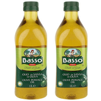 Basso Olive Oil Pomace, 1 Ltr : BUY 1 GET 1 FREE! - FoodNosh