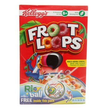 Kellogg's Froot Loops, 357 Gms - FoodNosh