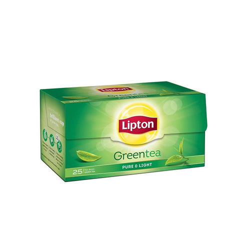 Lipton Green Tea Pure and Light Tea Bags, 25 bags - 3 Months Subscription - FoodNosh