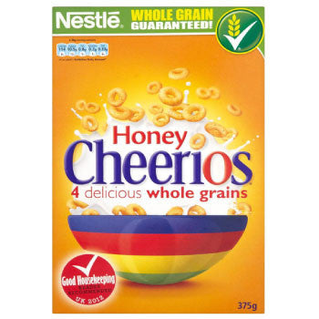 Honey Cheerios - Nestle, 375 Gms - FoodNosh