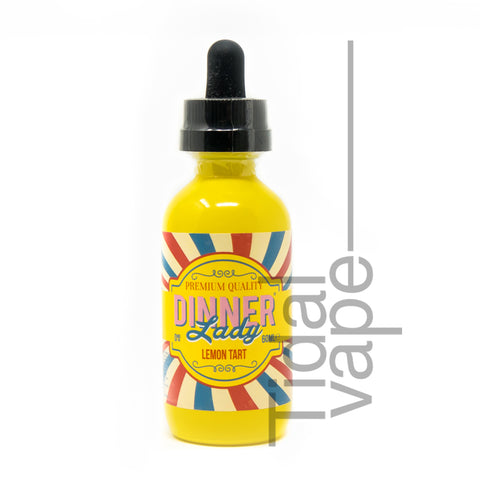 Dinner Lady 50ml 0mg Lemon Tart