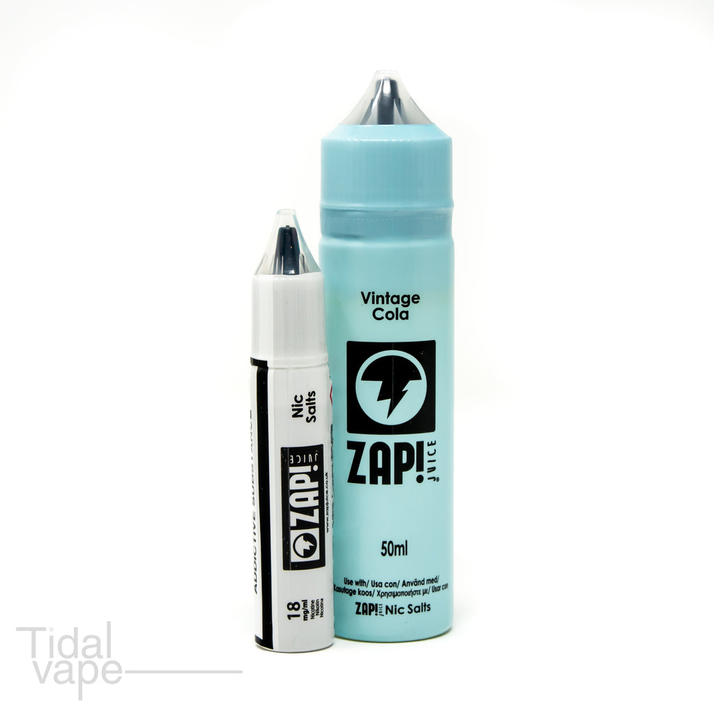 Vintage Cola by ZAP! Juice 50ml + 1 salt nicotine