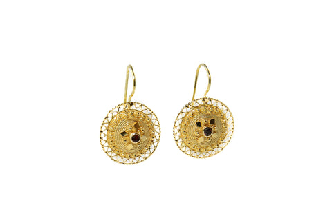 Bottone Sardinian Filigree Earrings
