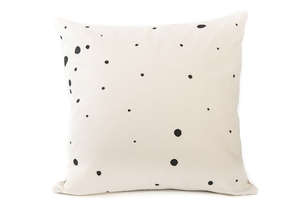 Hand Painted Shabby Chic Cushion Cover - Dots