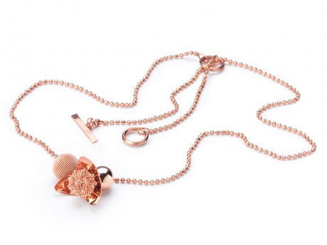 MINI GRAPPOLO Necklace - ROSE