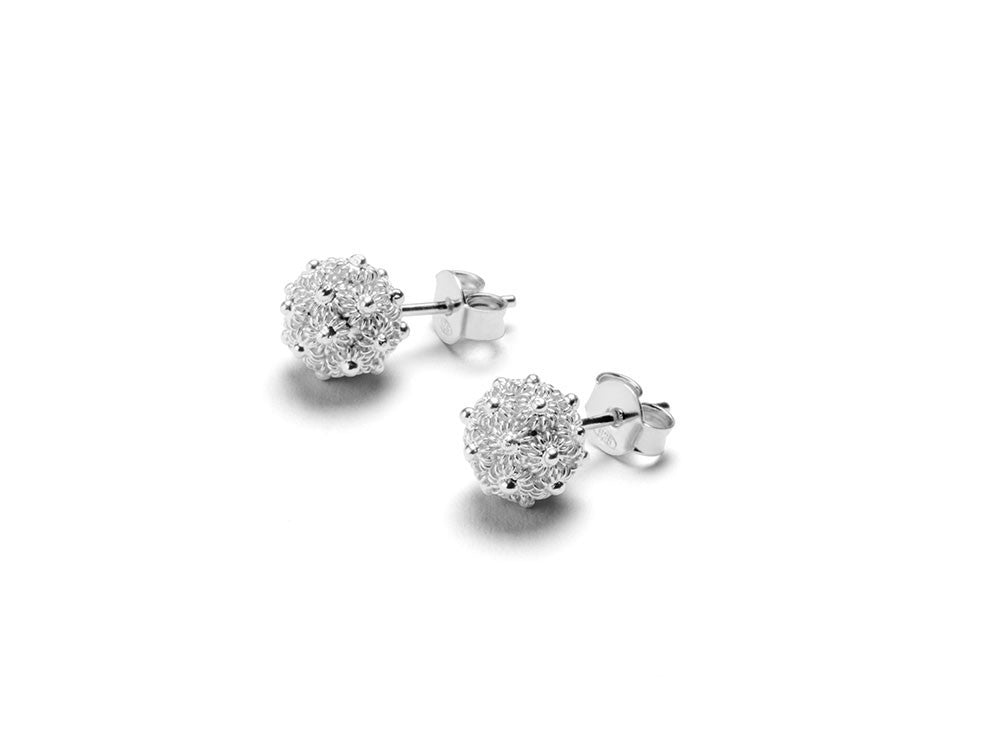 RAGNETTI PERLA Earrings - Silver