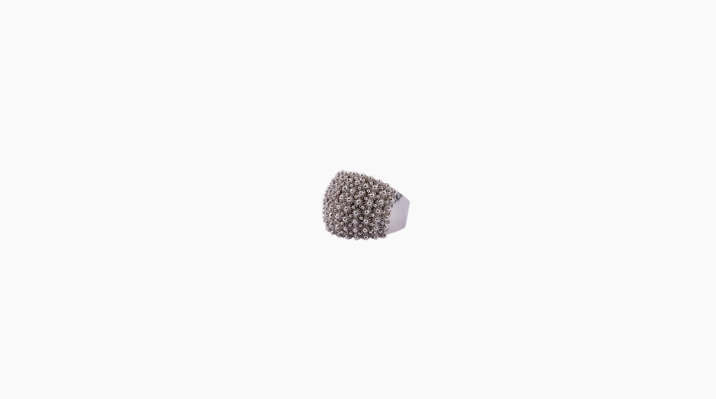 Honeycomb Filigree Ring