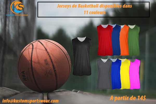 Jerseys de Basketball