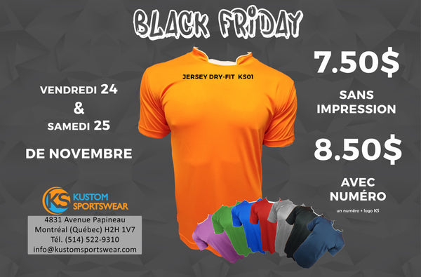 Black Friday 24 & 25 de Novembre