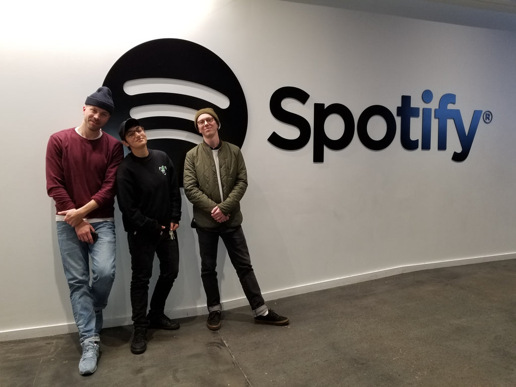 In December Mike And I Had The Honour Of Getting A Tour Through The Spotify  Office In New York City. Athena And The Crew There Are Making Some Serious  Waves ...