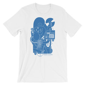 Shirts - The Music TEE (BLUE)