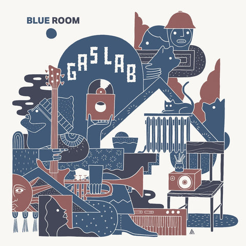 Tape - Gas Lab - Blue Room