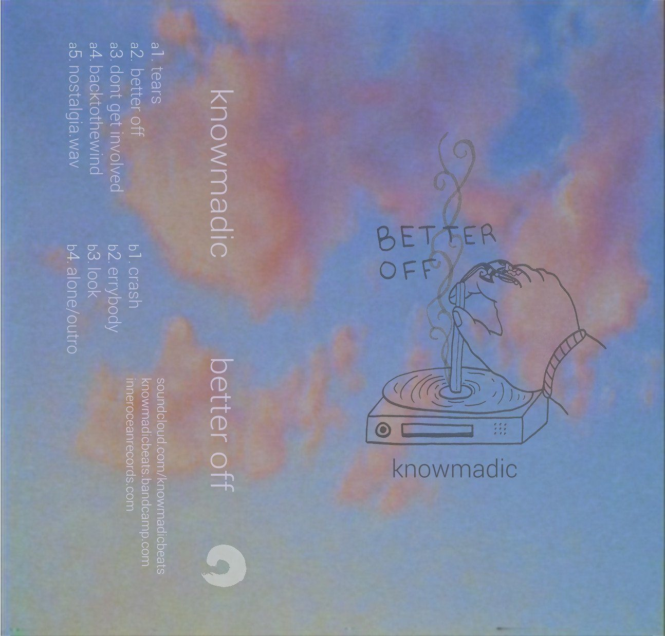 Knowmadic - Better Off - Inner Ocean Records