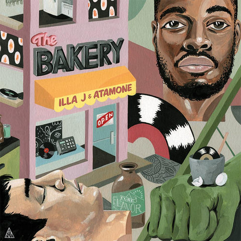 Vinyl - Illa J X Atamone - The Bakery