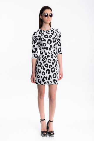 Éthologie Allesandra Dress in Black and White
