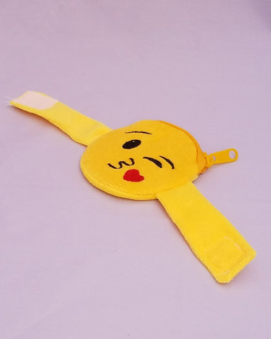 Emoji Coin Purse Bracelet