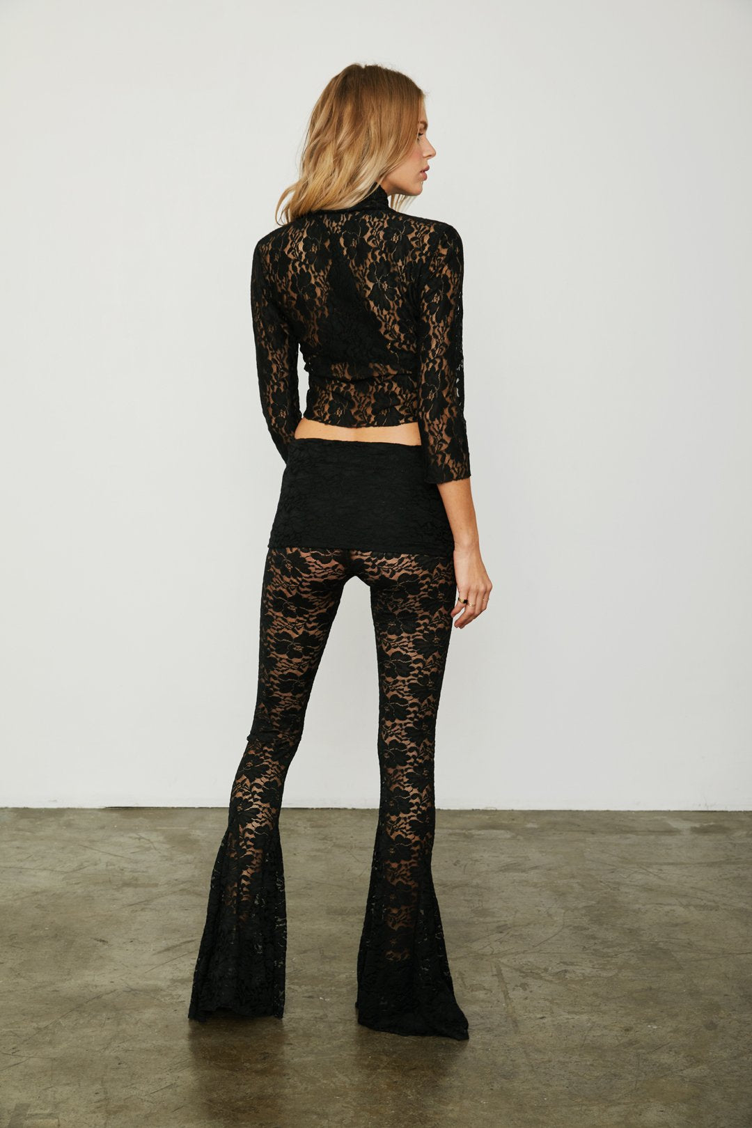 Blow Your Horn Lace Pant | Brown Sugar