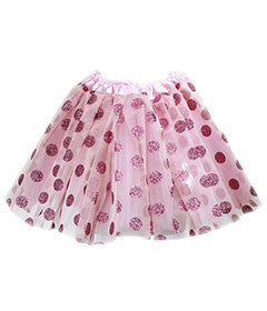 Couture Clips Light Pink Polka Dot Tutu - Duet Babies