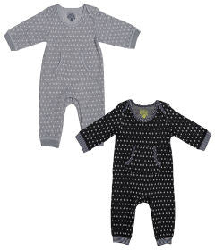 Kapital K Layette 2 Pack Stars Coverall
