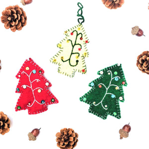 Friendsheep Classic Pine Trees (set of 3) - Unique