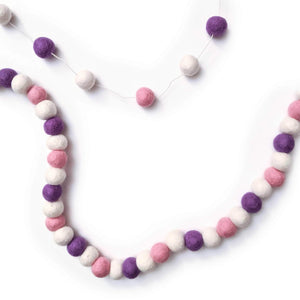 Friendsheep Eco Garland - Purple Valentine