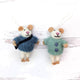 Friendsheep Hanging Animals Bruno and Milo - Set of 2