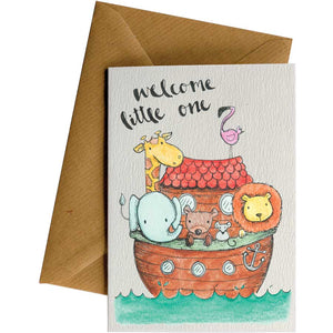 Friendsheep Sustainable Goods greeting_card Arc Welcome - Greeting Card