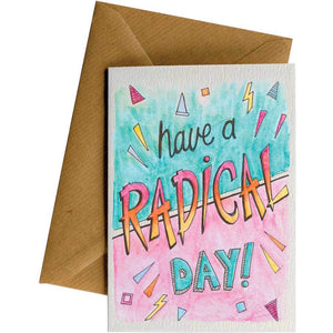 Friendsheep Sustainable Goods greeting_card Have a radical day! - Greeting Card