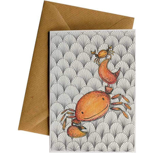 Friendsheep Sustainable Goods greeting_card Hero Crabs - Greeting Card