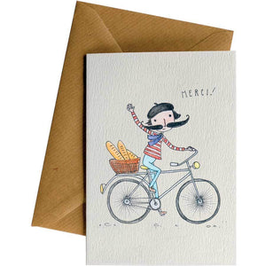 Friendsheep Sustainable Goods greeting_card Merci - Greeting Card