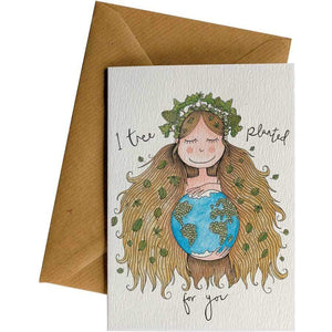 Friendsheep Sustainable Goods greeting_card Mother Earth - Greeting Card