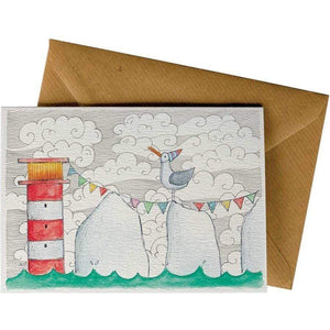 Friendsheep Sustainable Goods greeting_card Seagull - Greeting Card