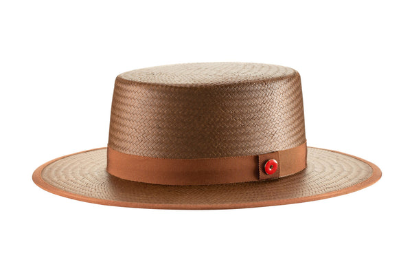 Derby (Cocoa Brown Straw)