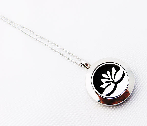 Lotus Flower Diffuser Necklace Essential Oil Diffuser Necklaces