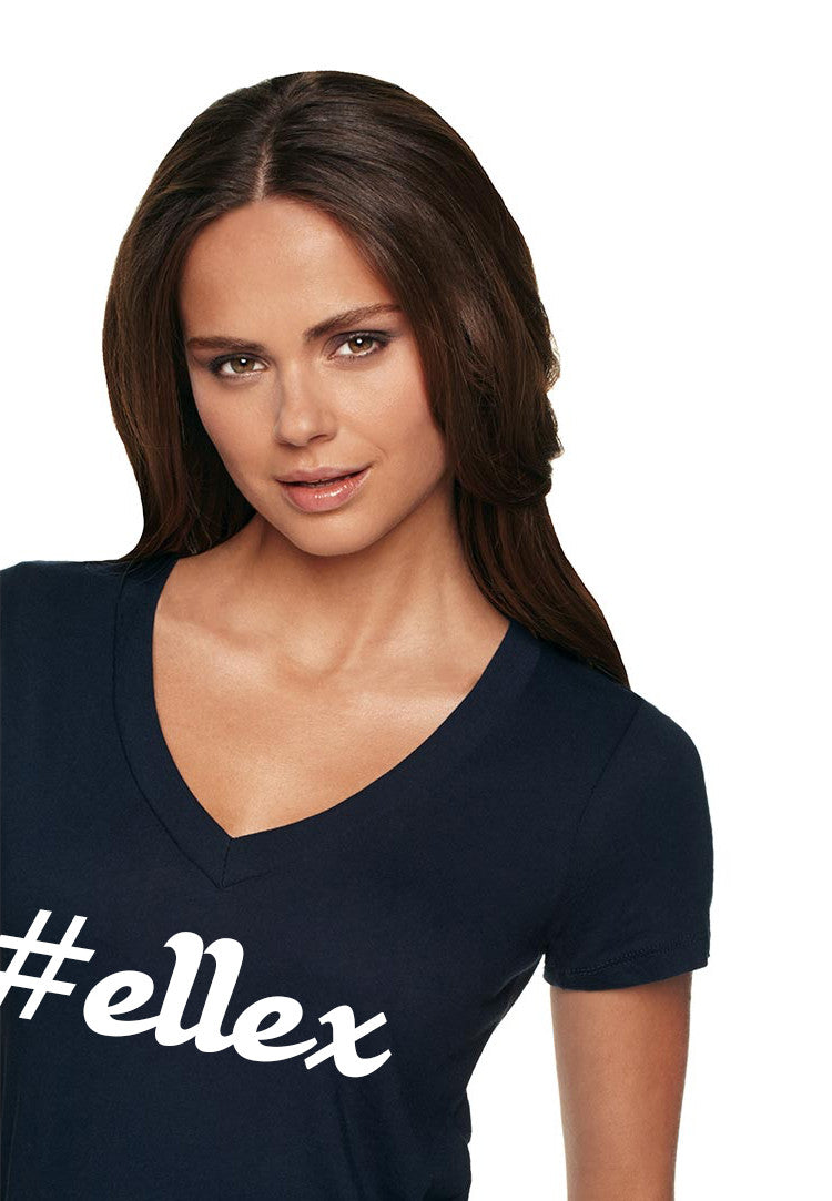 #Ellex Girls Deep V-Neck