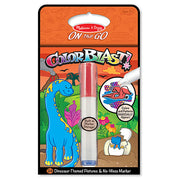 Melissa and Doug - Dinosaurs Colorblast Book, ON the GO Travel Activity