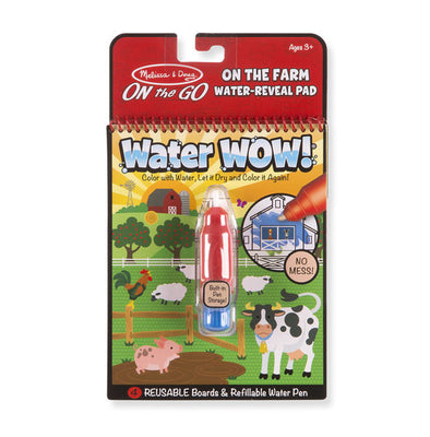 Melissa and Doug - Water WOW! Farm, ON the GO Travel Activity