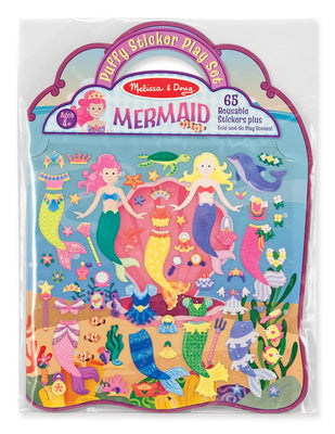 Melissa and Doug - Puffy Sticker Play Set: Mermaid