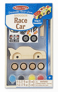 Melissa and Doug - Decorate Your Own Wooden Race Car