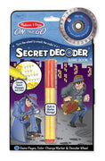 Melissa and Doug - Secret Decoder ON the GO Travel Activity Book