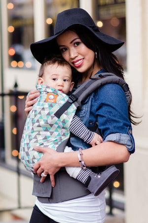 Tula Canvas Ergonomic Carrier - Equilateral