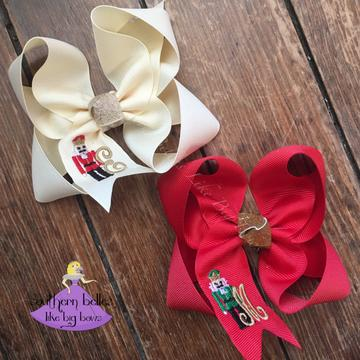 Southern Belle's Like Big Bows - Medium Nutcracker
